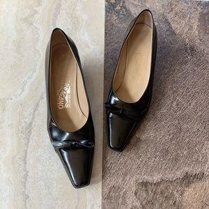 Salvatore Ferragamo kitty heels